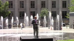 Re-envisioned Rodney Square gets new fountains, Caesar Rodney statue's future still uncertain