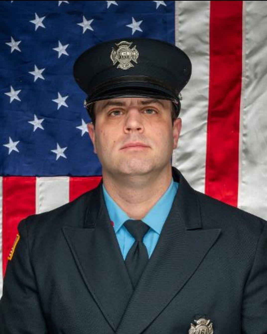 Wilmington firefighter Adam Risden