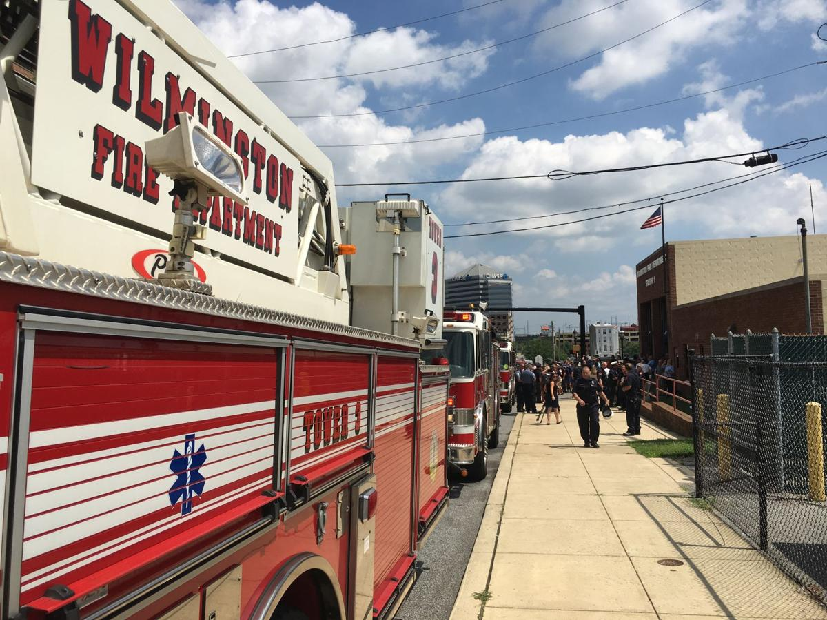Wilmington Fire Department Brad Speakman walk-out