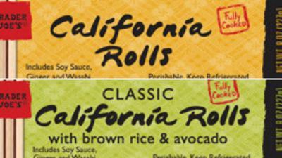 Trader Joe's sushi recall 120319