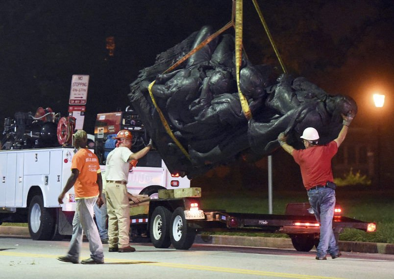 City of Baltimore removes four Confederate monuments