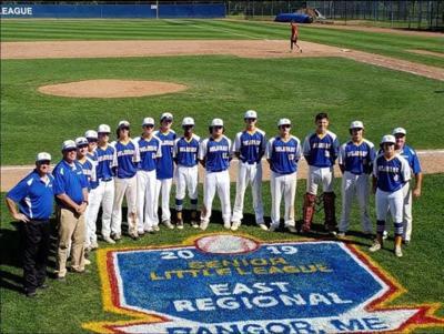 Naamans Senior League 2019 East Regional Team