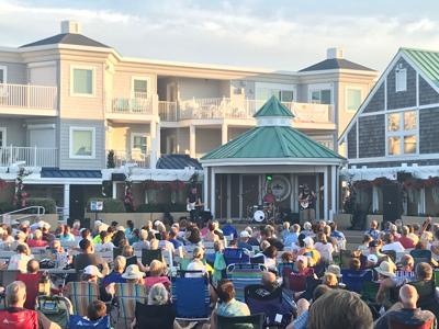 Summer Concert at Bethany Beach's Bandstand