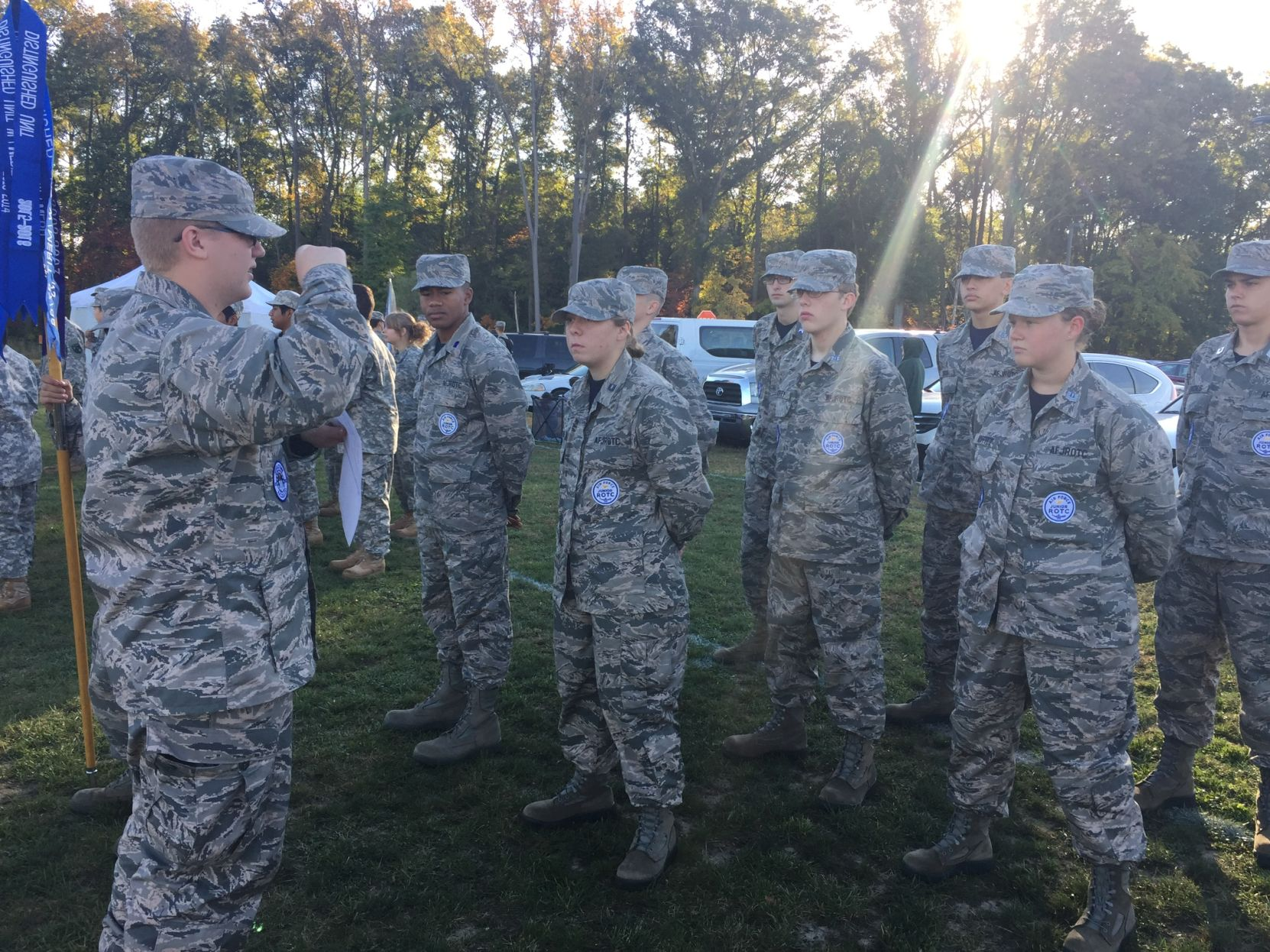 The Air Force JROTC program at Middletown High School continues to fight for their community   WDEL