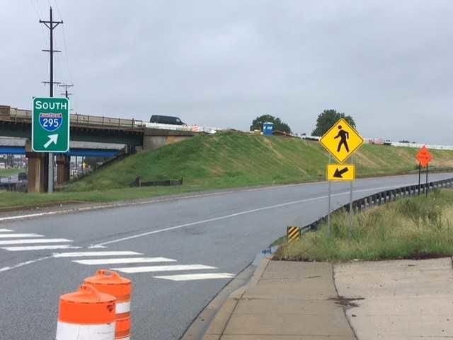 Interstate 295 Hospital Ramp