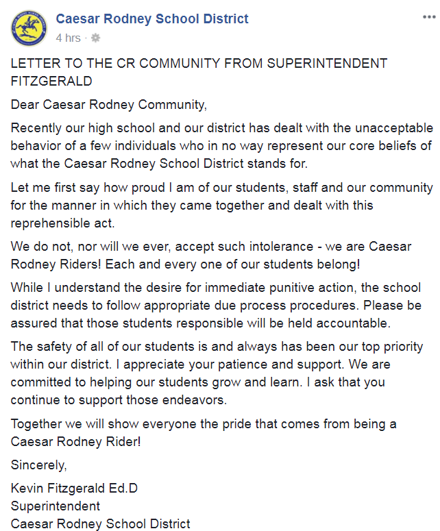 caesar rodney statement