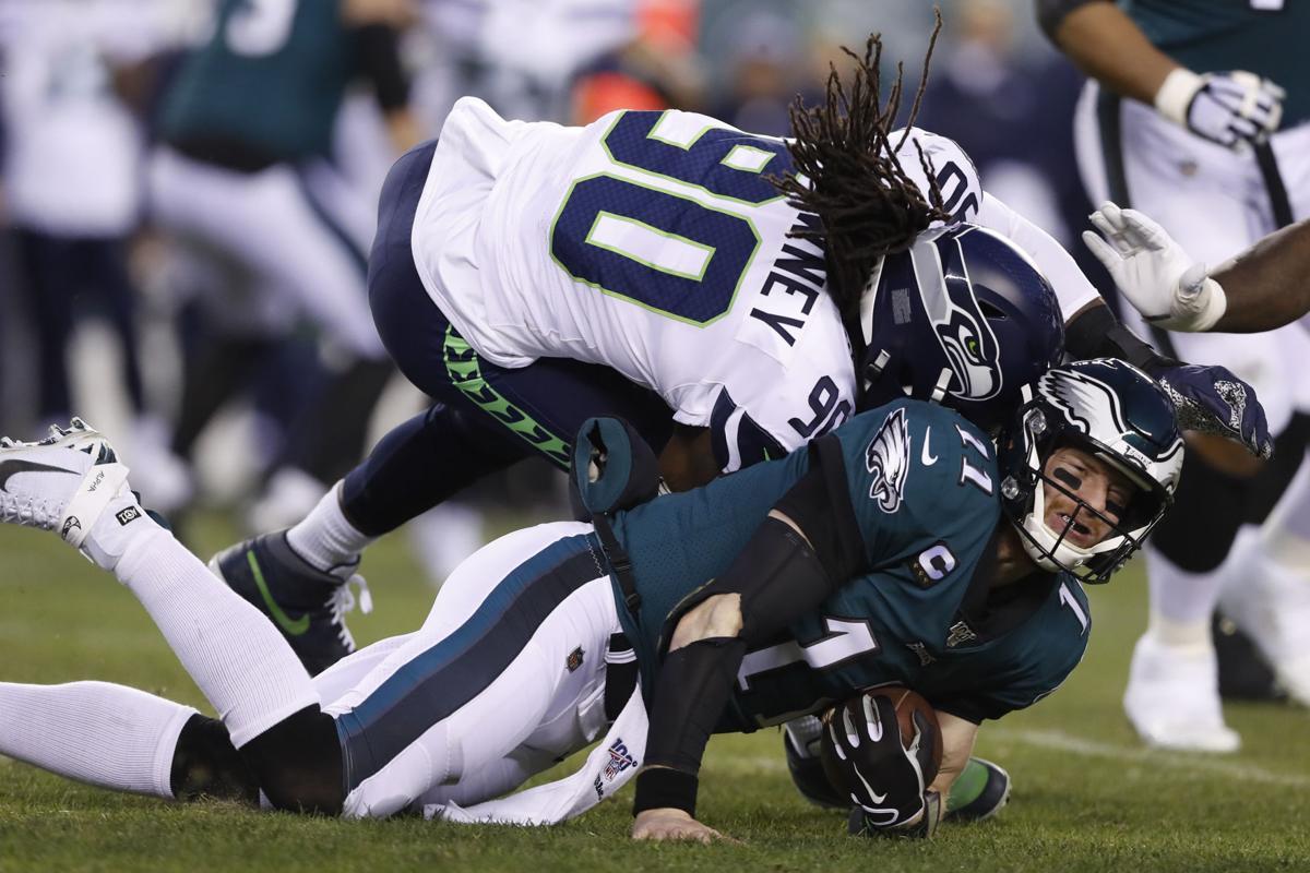 APTOPIX Seahawks Eagles Football