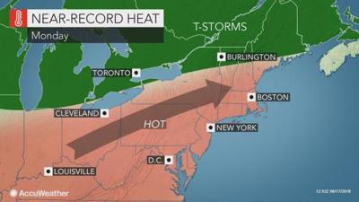 Heat Humidity Get Jump On Summer Solstice In Mid Atlantic - Us-humidity-map