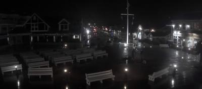 Bethany Beach on July 8, 2021 as Tropical Storm Elsa crossed Delaware