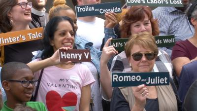 'Dramatic day' in Wilmington as Delaware Shakespeare Day returns to the city