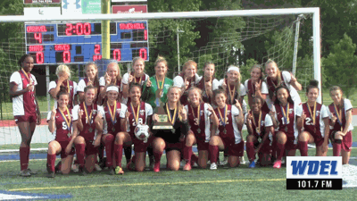 Caravel's 2019 DIAA Division 2 Girls Soccer Champions