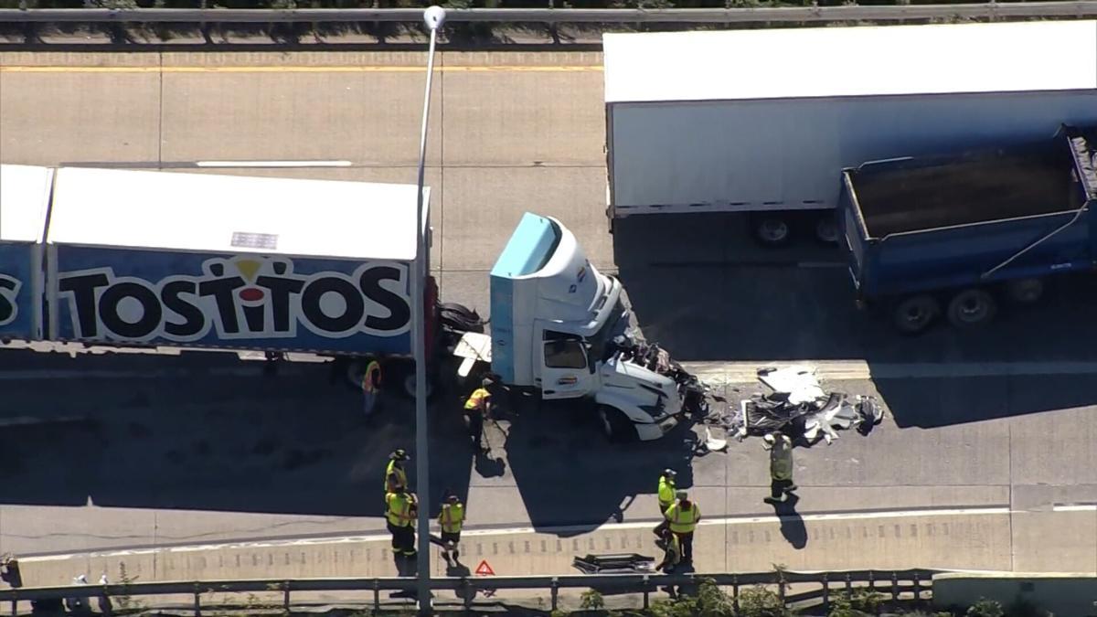 I495 fuel spill crash 092120