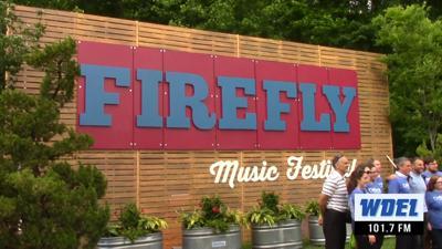 Firefly Music Festival sign