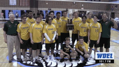 Indian River's 2019 Boys Volleyball State Championship Team