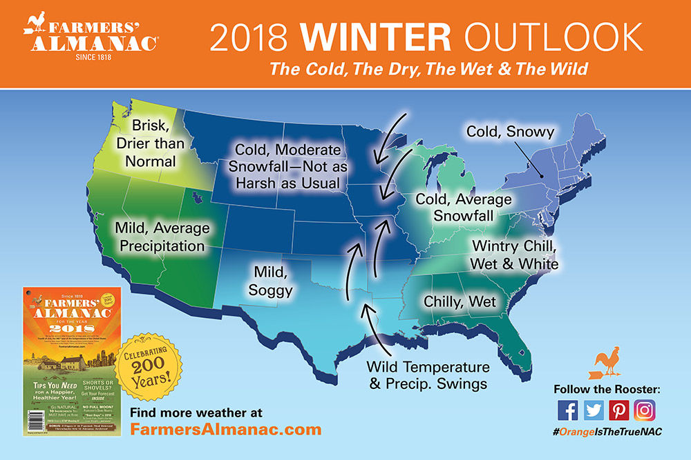 Delaware Could Be Winter Weary If These 5 Dates Bring Significant - Average-snowfall-us-map