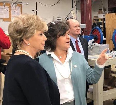 Linda McMahon focuses on small business development during tour in Delaware