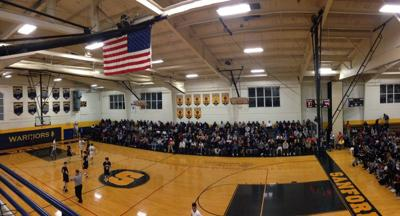 Sanford's Sports Center before a basketball game against Salesianum in 2019