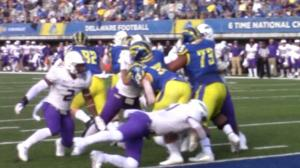 JMU's defense smothers Delaware's offense as Blue Hens drop third straight