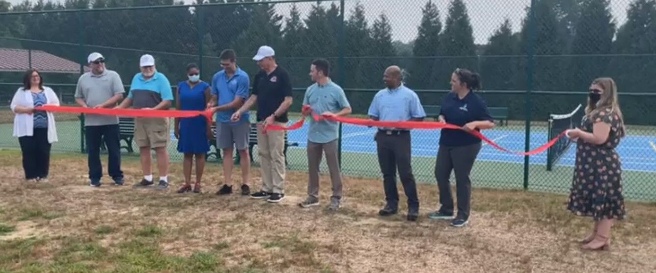 Townsend Tennis and Pickleball court