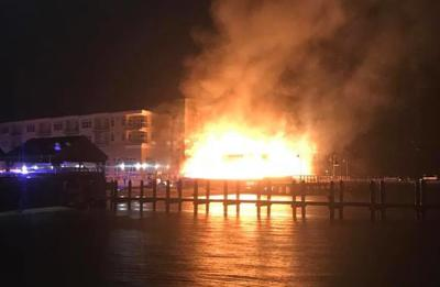 Fire at the Lighthouse Restaurant in Dewey Beach