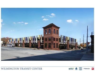 Wilmington Transit Center rendering