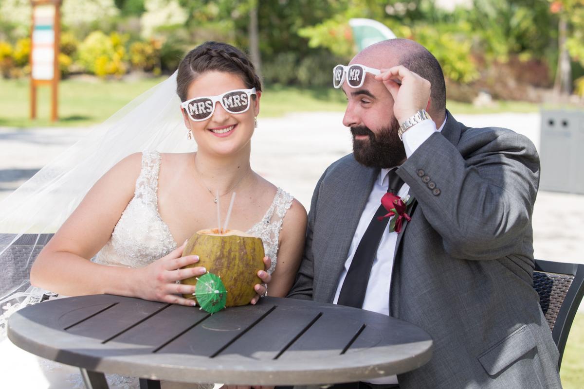 Amanda Valentin cruise wedding