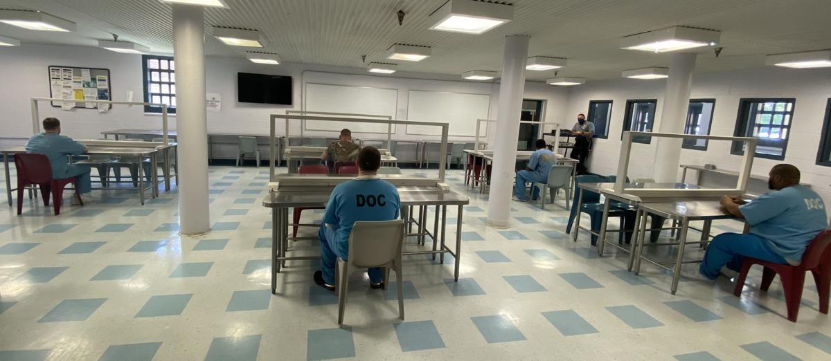 Visitation preparations Morris Community Corrections Center.jpg