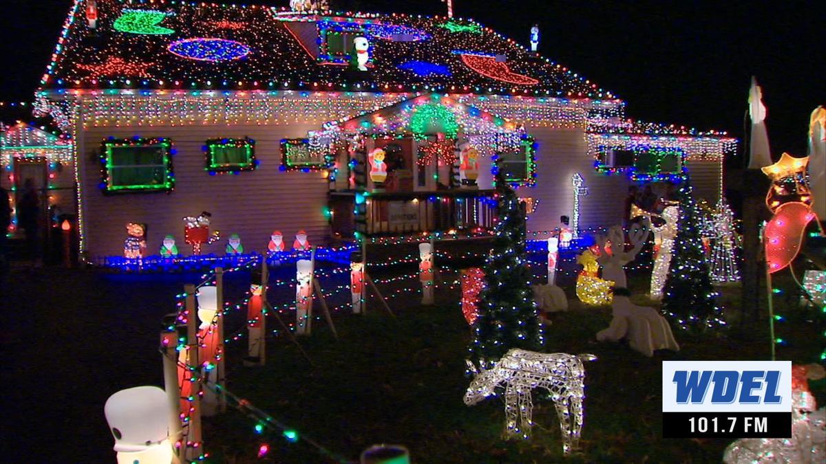 Top Of The Hill Christmas Lights Delaware 2021 Silverside Road Xmas Lights Wdel Com