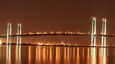 Delaware Memorial Bridge stock