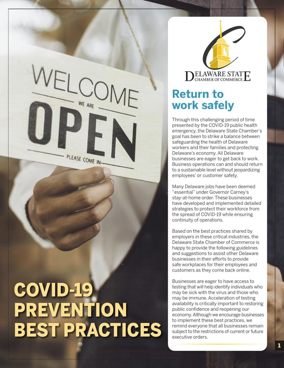 DSCC COVID-19 Prevention Best Practices