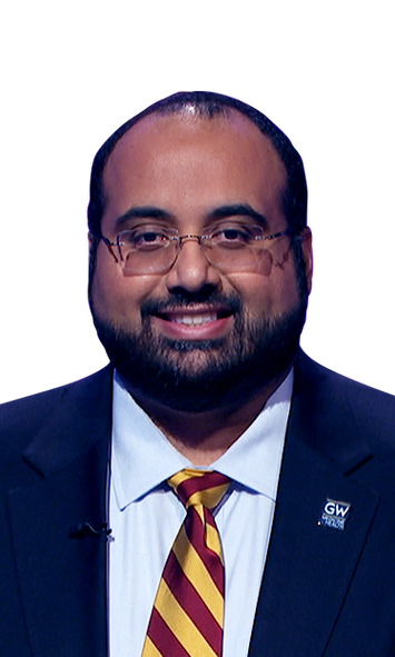 Mohammed Ali, contestant on Jeopardy - December 2, 2019