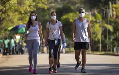 Masks outside COVID-19