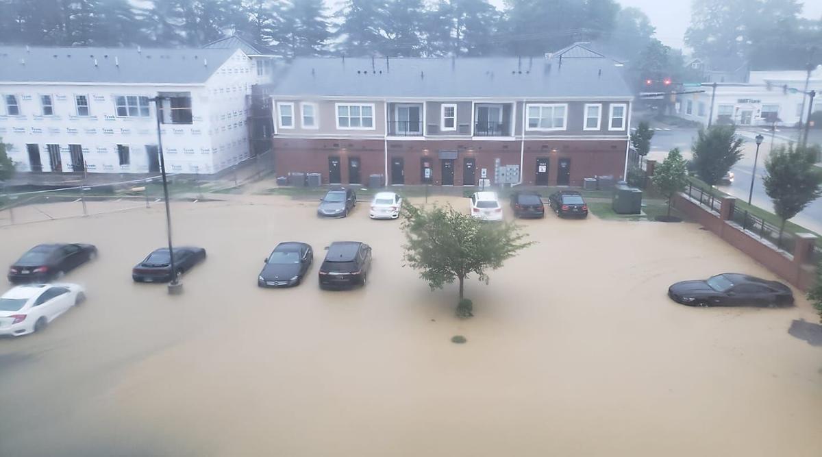 Philadelphia Pike flooding