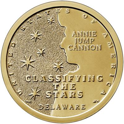 Collectors coin series honors Delaware astronomer - scientists