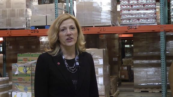 VIDEO: DHSS secretary talks hunger-fighting campaign