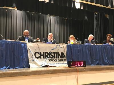 The Christina School Board meets on February 12, 2020