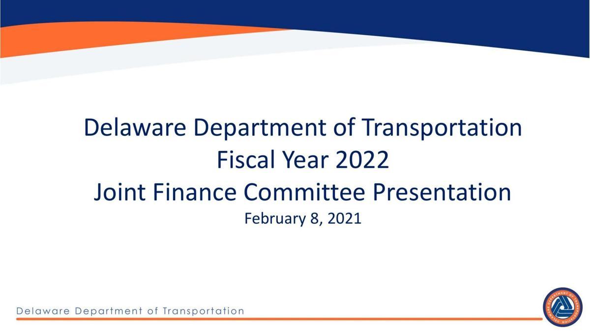 DelDOT FY 22 budget presentation