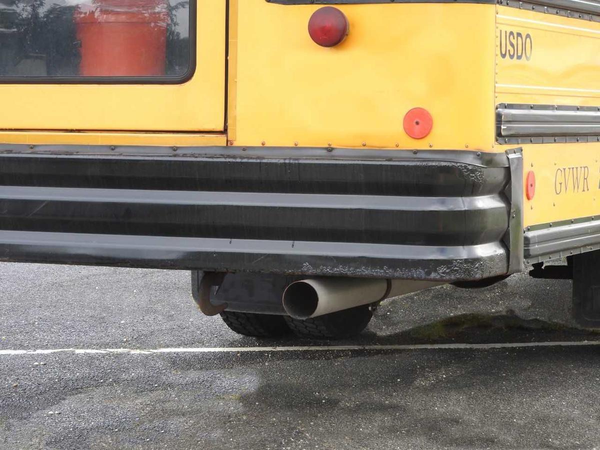 School Bus Tailpipe