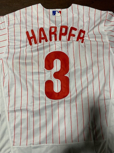 super popular a539b e3a06 Fake Philadelphia Phillies Bryce Harper jerseys seized by ...