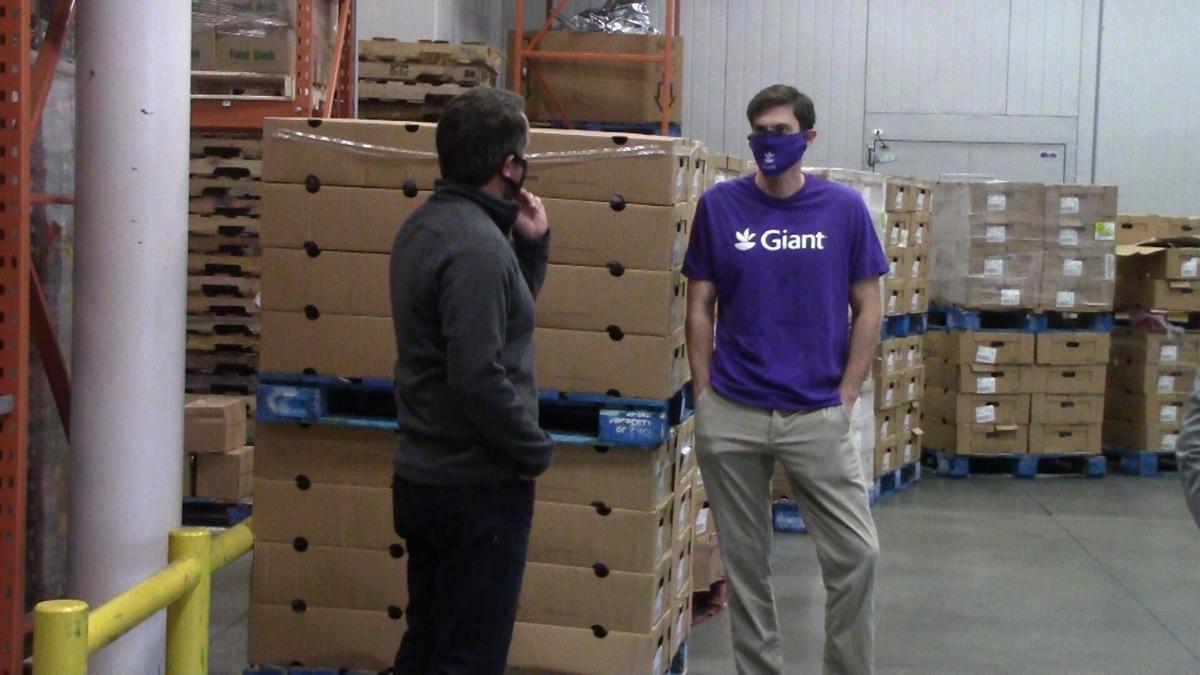 Giant turkey food bank donation 2