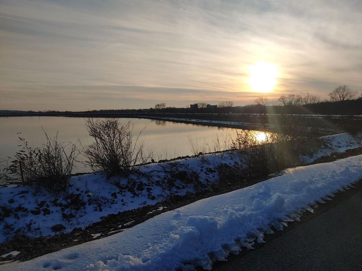 Newark Reservoir (winter)