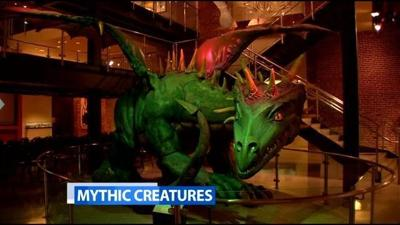 New exhibit at Frazier History Museum looks at Mythic Creatures
