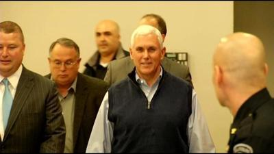Indiana Gov. Mike Pence makes business trip to Israel