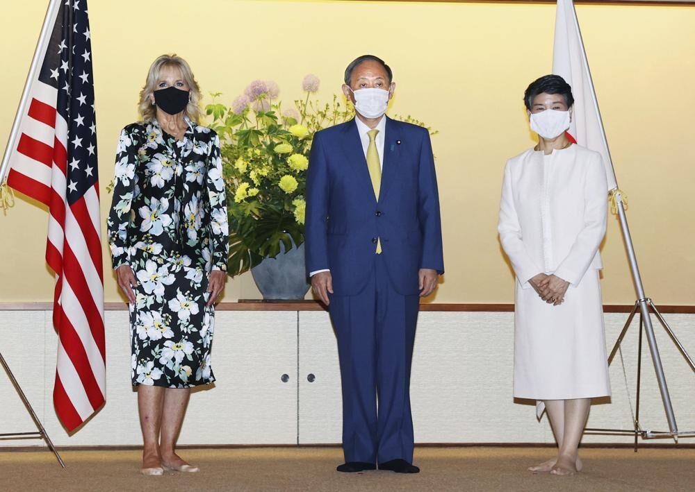 Jill Biden in Tokyo