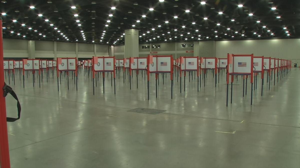 Kentucky Exposition Center Primary Setup
