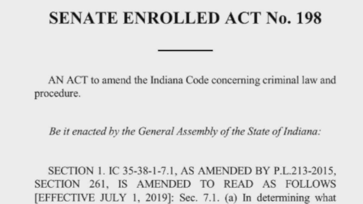 Indiana hate crimes bill