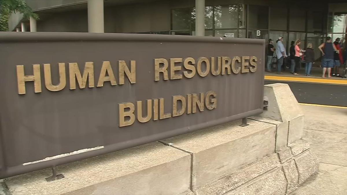 Human Resources Building at Cabinet for Health and Family Services in Frankfort
