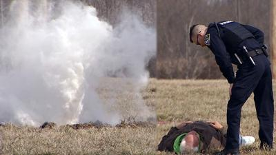 Scottsburg gas rupture training