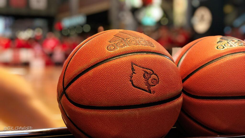 Louisville basketballs
