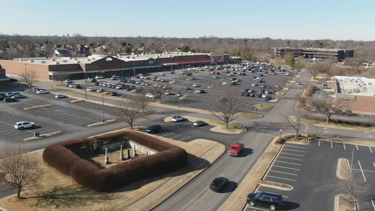 Cemetery hiding in plain sight at Louisville shopping center